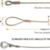 elingue cable inox 1