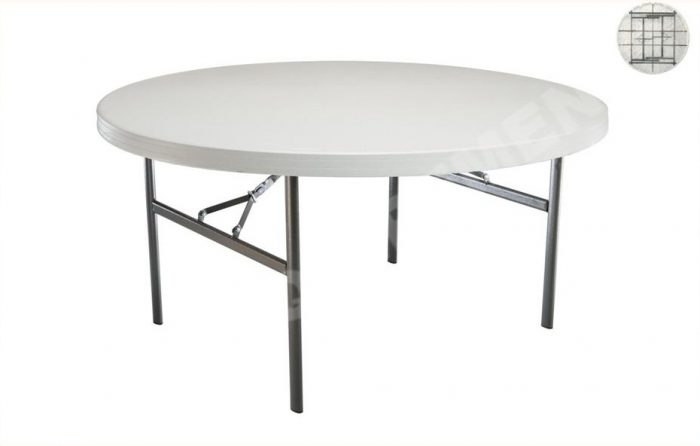m table lifetime diametre 152