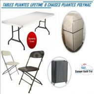 promotion lot tables lifetime chaises polymac 1
